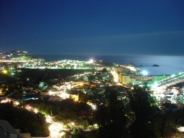 Almunecar by night